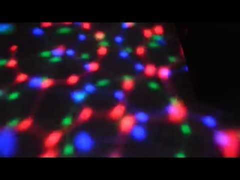 Luz multicolores para
