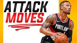 Attack Moves off the Catch: Basketball Moves to Get Past Defenders