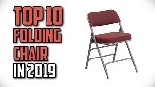 10 Best Folding Chairs In 2019 Reviews