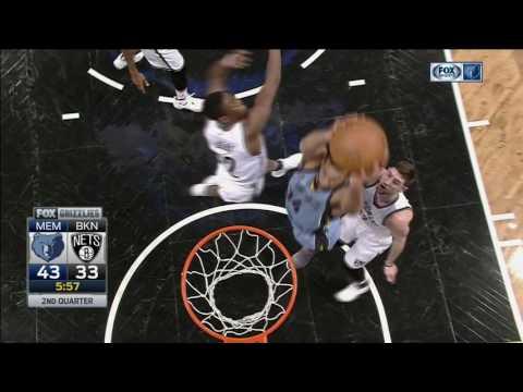 Marc Gasol vs Nets (13 - 2 - 2017)