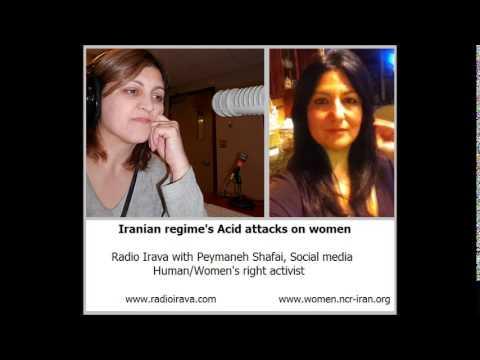 Iranian regime's Acid Attacks on women