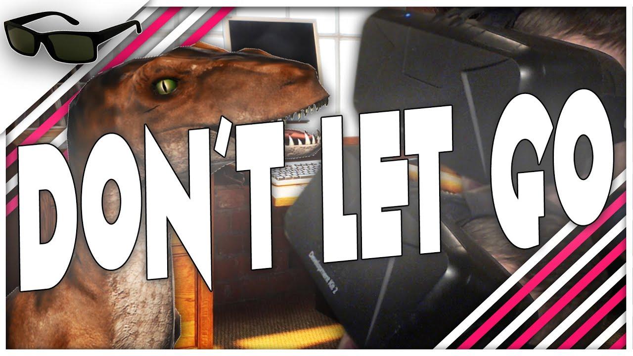 Don t let go oculus rift dk2 dinosaur licks my face youtube