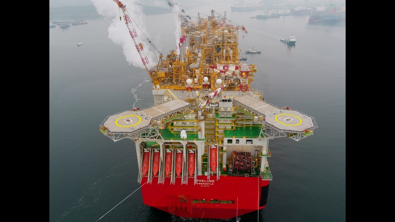 Prelude FLNG – video gallery   Shell Global