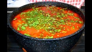 Лагман Готовим в казане Рецепт супа Кавказская кухня
