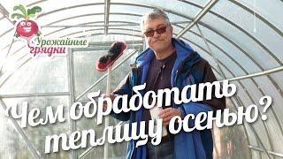 видео Обработка теплицы из поликарбоната весной от вредителей