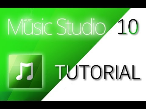 Sony Music Studio 10 - Tutorial for Beginners [+ General Overview]