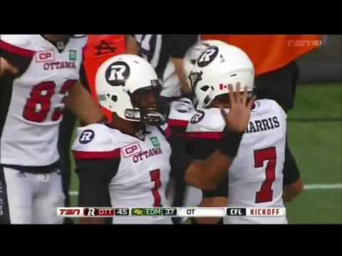 Trevor Harris Ottawa Redblacks