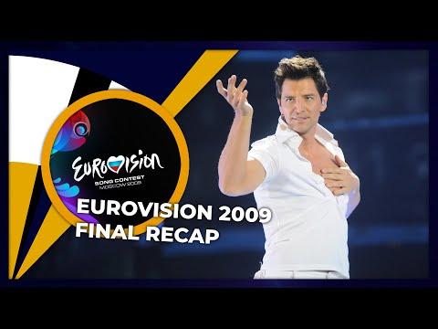 Eurovision 2009 | Final | RECAP