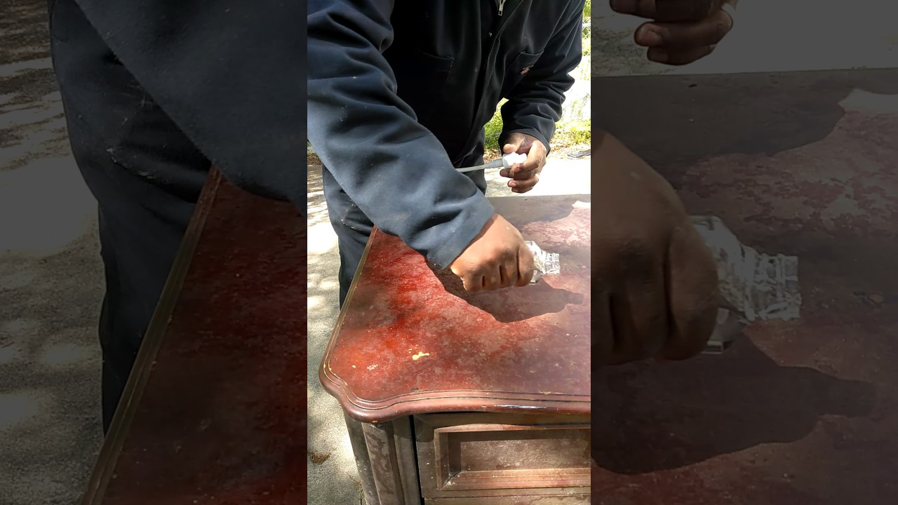 Cleaning Mold Of Furniture