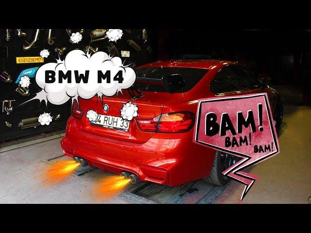 BMW F32 4.20 DİZEL KUMANDALI VAREX EGZOZ SESİ