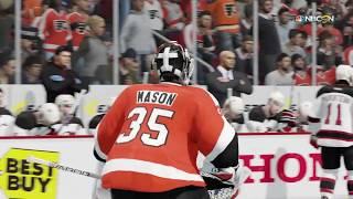 72360e96e NHL 17 Gameplay New Jersey Devils vs. Philadelphia Flyers