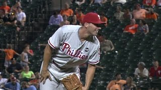 PHI@BAL: Francouer tosses two frames for the Phillies