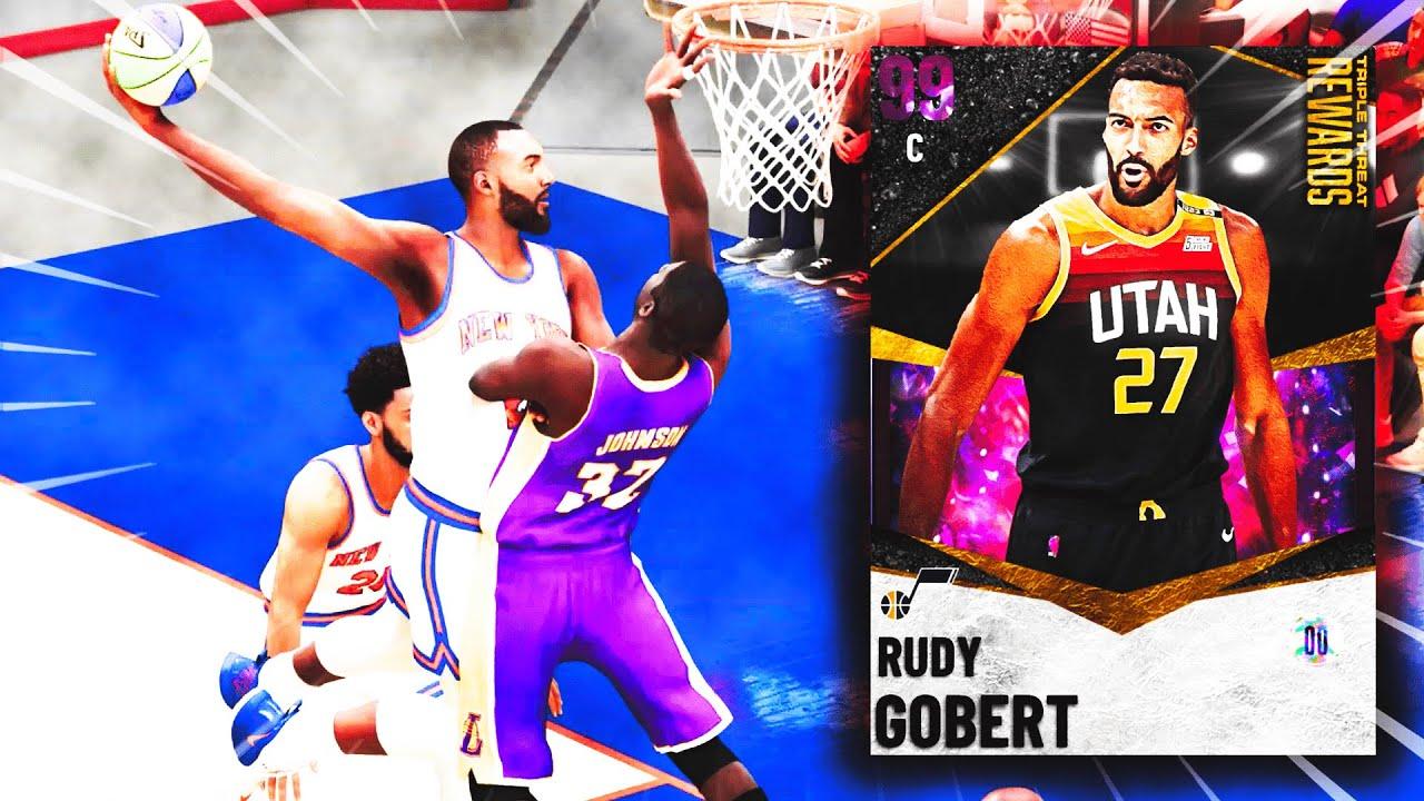 NBA 2K21 - Je découvre MyTEAM... et j'ai réussi à transformer Rudy Gobert en DRIBBLE GOD !