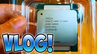 $2000 Computer Upgrade (COMPUTER BUILDING!) - Vlog