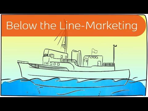 Below the Line-Marketing in 3 Minuten erklärt