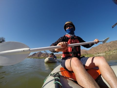Orange River Rafting [GoPro]