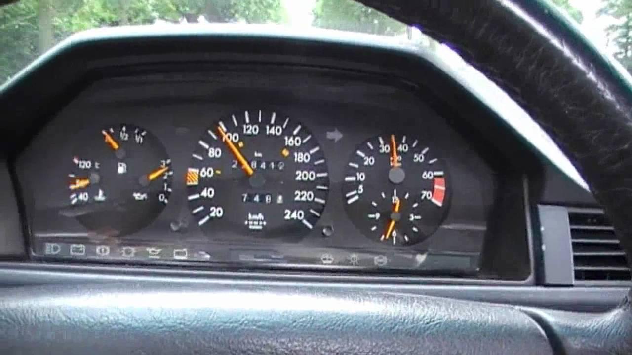 Mercedes Benz 300ce W124 1991 Testdrive Amp Acceleration