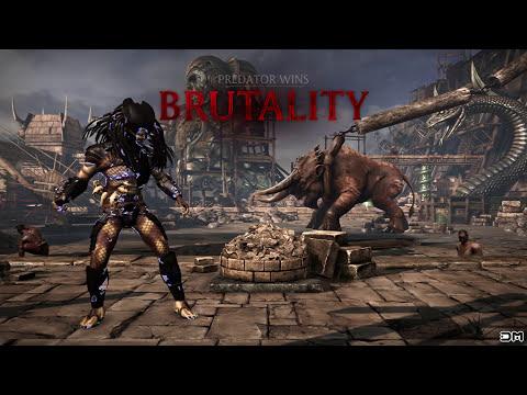 Mortal Kombat XL Predator Skins All Kombat Pack 2 Characters
