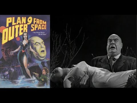 Plan 9 From Outer Space | 1959 - FREE MOVIE! Good Quality - Horror/Comedy/Sci-Fi: With Subtitles