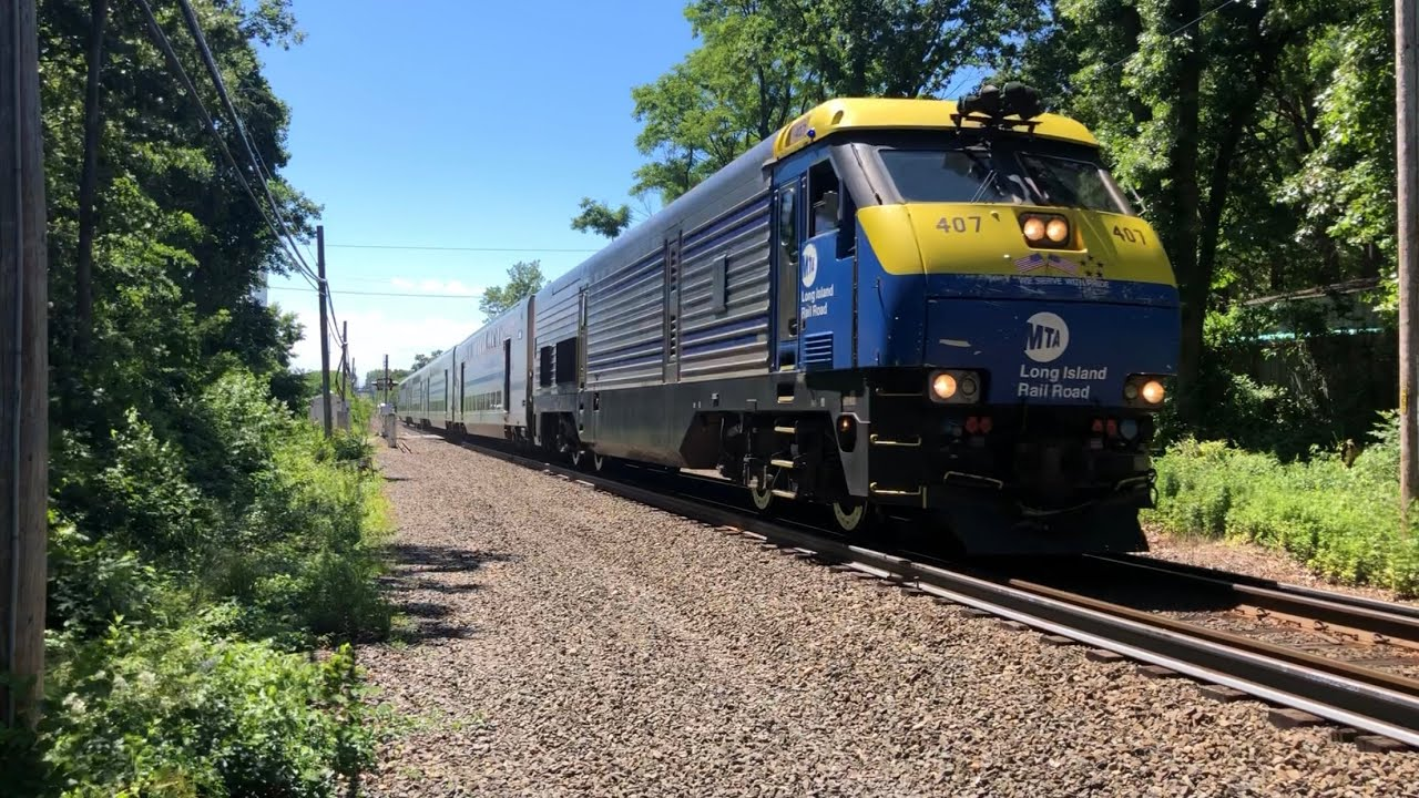 LIRR: June Friday Railfanning at Kings Park