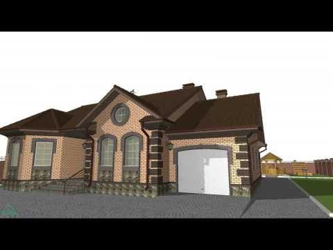 Проекты одноэтажных домов и коттеджей - продажа проектов