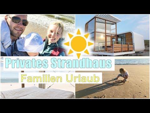 Familien Urlaub   Traumhaftes Strandhaus direkt am Meer 😍   Nieuwvliet   Isabeau