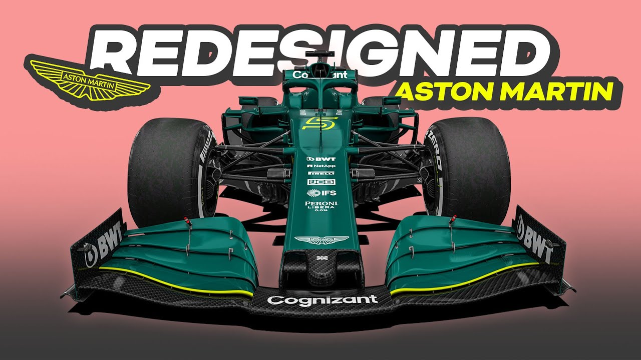 My REDESIGN of the 2021 Aston Martin Formula 1 Car