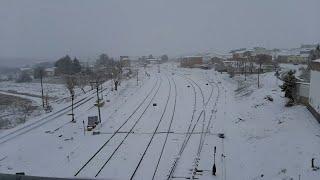 'Filomena' deja fuertes nevadas en la provincia de Cuenca