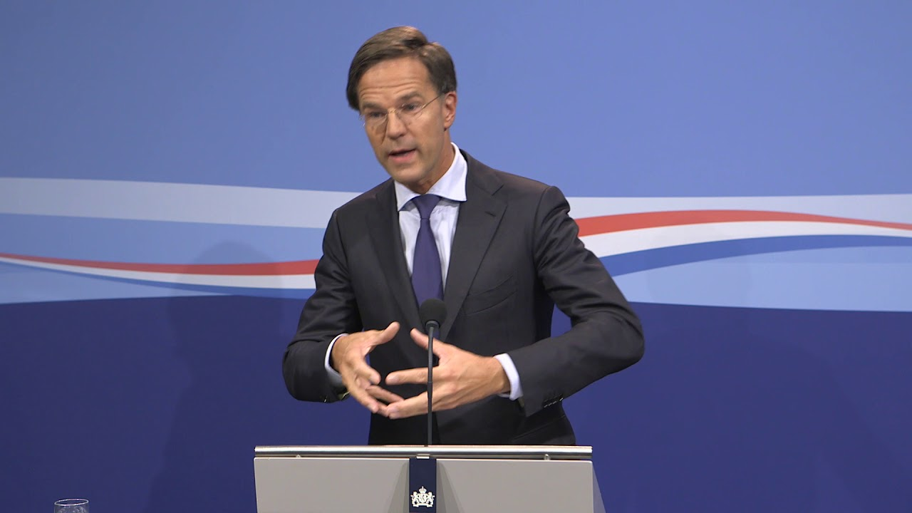 Integrale Persconferentie MP Rutte 7 September 2018