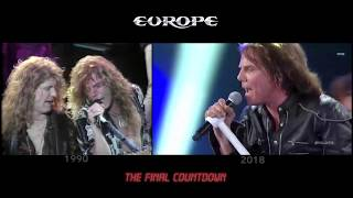 Europe The Final Countdown 1990 2018 simultaneo Festival de Via del Mar Chile.mp3
