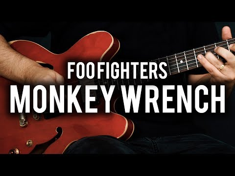 Foo Fighters - Monkey Wrench - Guitar Cover - Fender Chris Shiflett Telecaster - Epiphone ES335