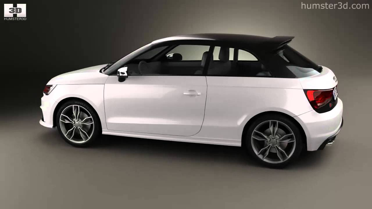 audi s1 3 door 2014 by 3d model store youtube. Black Bedroom Furniture Sets. Home Design Ideas