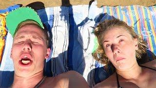 Пляжный день с Настей! Большие новости! PashaNastya Vlog