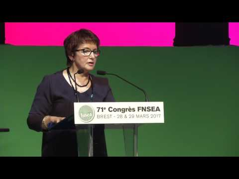 Conclusion du Congrès par Christiane Lambert