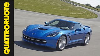Corvette Stingray 2014: sound e giro in pista