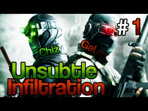 [1] Unsubtle Infiltration (Splinter Cell: Conviction Coop w/ GaLm and Chiz)