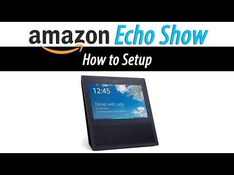 Amazon Echo Show - How to Setup - YouTube