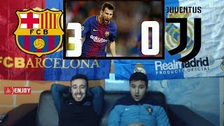 REAL MADRID FAN REACTS TO BARCELONA 3-0 REVENGE ON JUVENTUS - LIVE REACTION