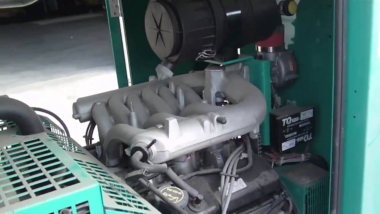 Cummins 35kW Onan QuietSite II Natural Gas Generator Set