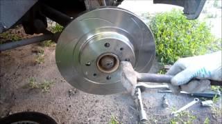 видео Замена тормозных дисков ВАЗ 2110: инструкция