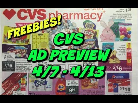 CVS AD PREVIEW 4/7 – 4/13 | FREE MAKEUP, DEODORANT & MORE 💄
