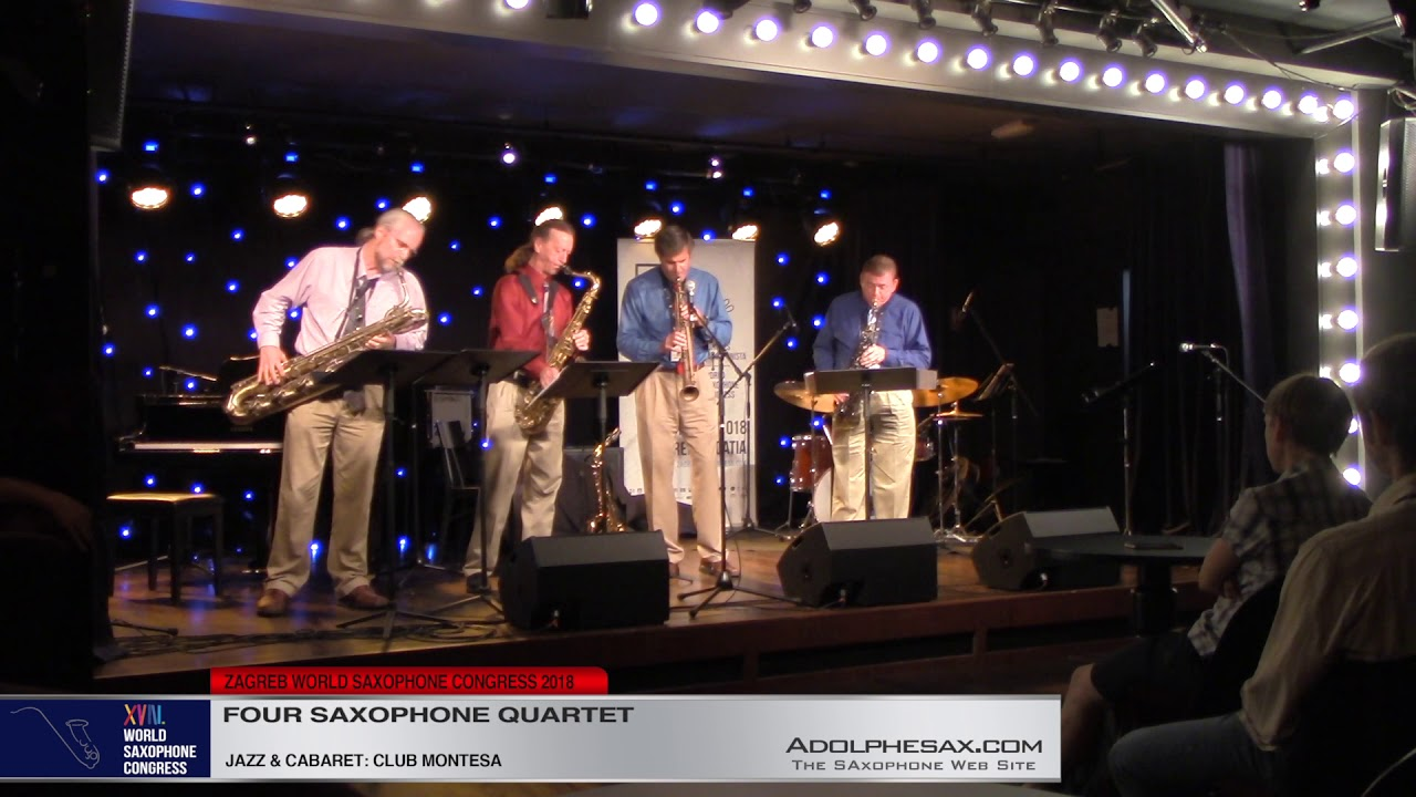 I got nothin´but Nothin´   Four Saxophone Quartet   XVIII World Sax Congress 2018 #adolphesax