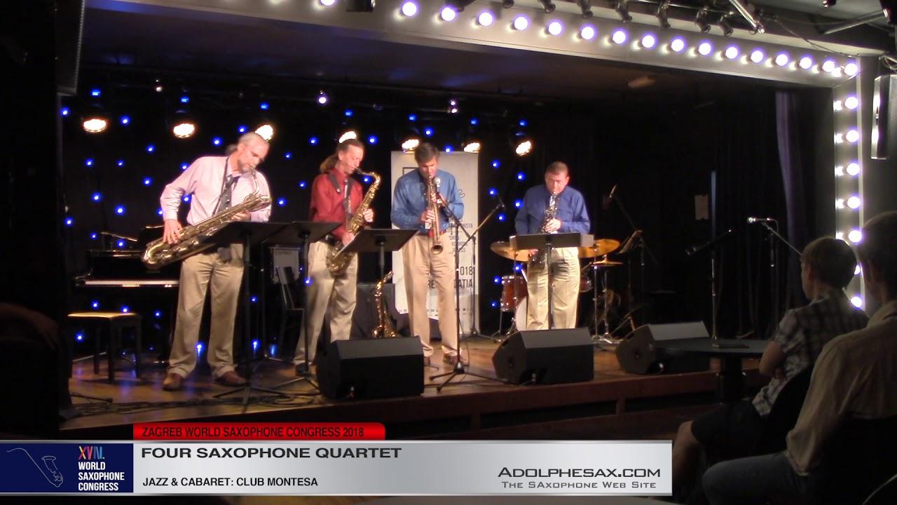 I got nothin´but Nothin´   Four Saxophone Quartet   XVIII World Sax Congress 2018 #adolphesax