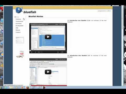 Editor Multiplataforma Bluefish