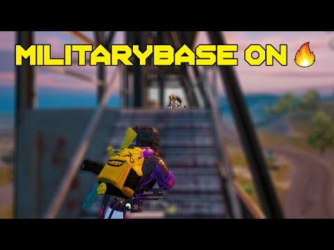 Military Base On Fire 🔥🔥🔥 - PUBGMOBILE