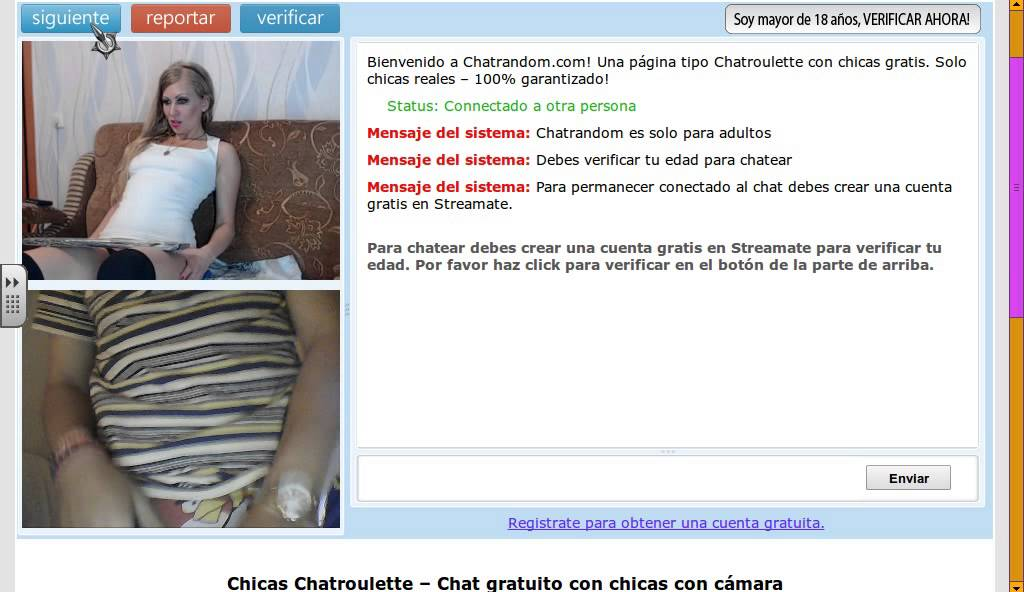 Chatroulette gratis
