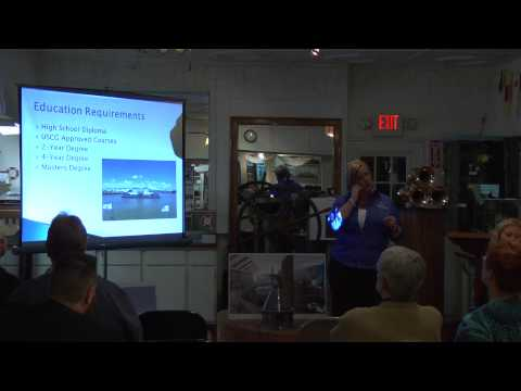 March 28, 2013 Career Lecture: Charting a Successful Maritime Career