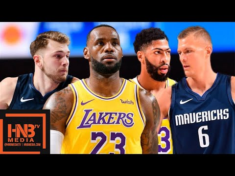 Los Angeles Lakers vs Dallas Mavericks - Full Game Highlights | November 1, 2019-20 NBA Season