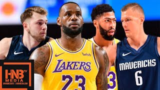 Los Angeles Lakers Vs Dallas Mavericks   Full Game Highlights | November 1, 2019 20 Nba Season