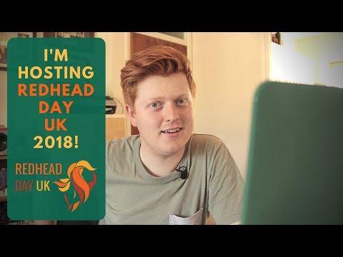 I'M HOSTING REDHEAD DAY UK 2018!